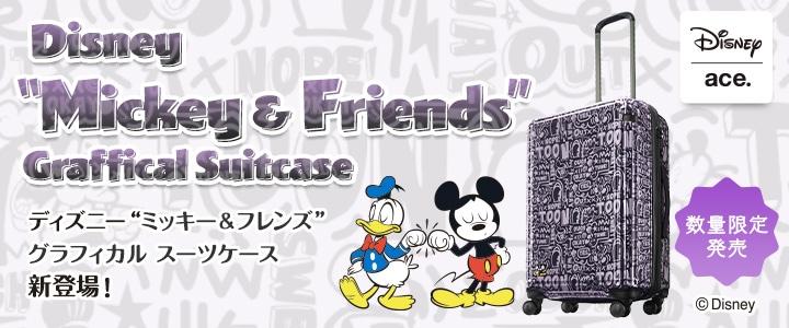 ディズニーキャラクターがたくさん登場!ワクワク感が詰まったスーツケース