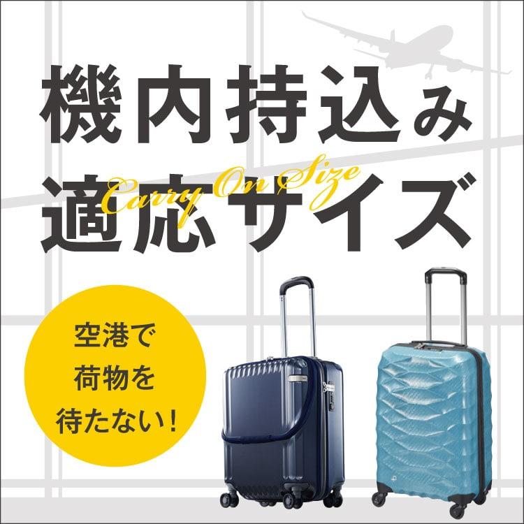 機内持ち込み適応サイズ/Carry On Size「空港で荷物を待たない!」