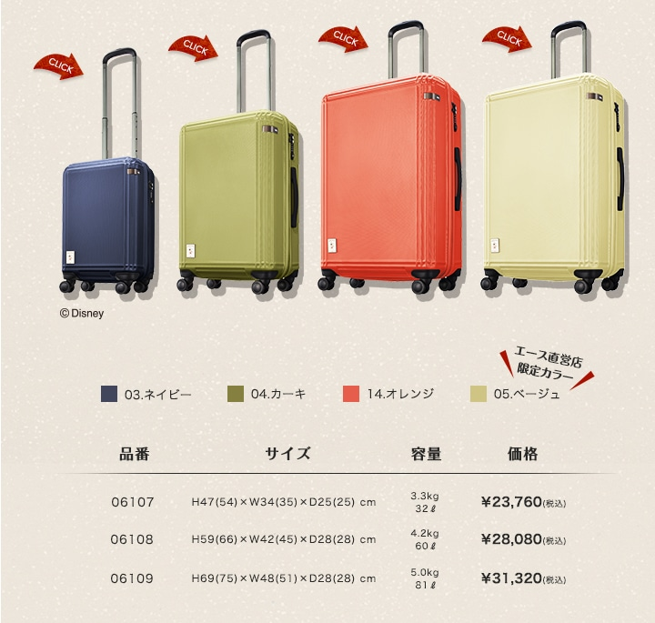 """CAMPING """"MICKEY""""SUITCASE"""