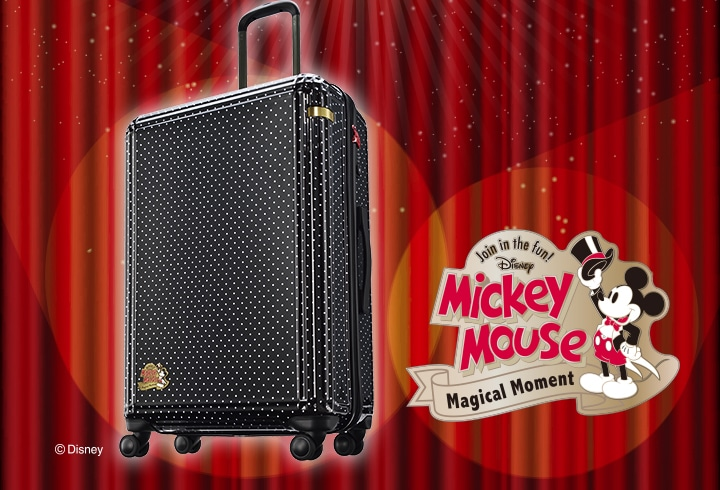"CLASSICAL ""MICKEY""SUITCASE"