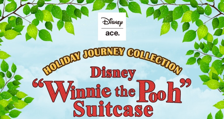 Limited Edition of ACE x Winnie the Pooh Suitcase