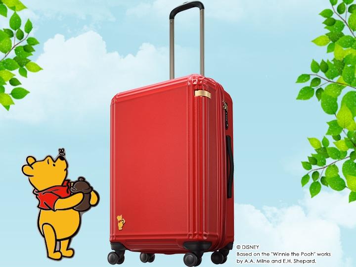 """ディズニー""""くまのプーさん""""スーツケース"""