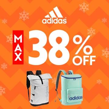 adidas MAX 38% OFF