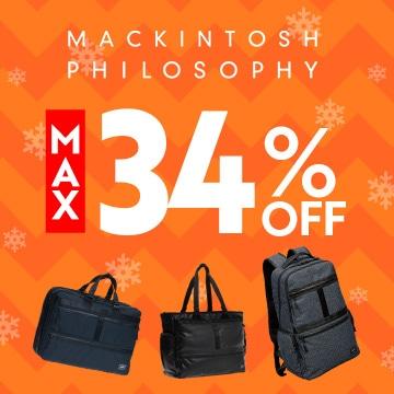 MACKINTOSH PHILOSOPHY MAX 34% OFF