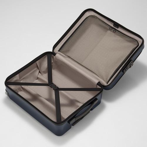 【限定/グロスカラー】≪プロテカ マックスパス H2s ≫ 2~3泊用トローリーバッグ 40リットル -機内持込最大容量- フロントポケット/静かで滑らかなベアロンホイール搭載 02762