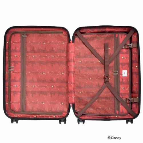"""≪ace.≫ 限定★Disney クラシカル""""ミッキー""""スーツケース  60リットル☆4~5泊程度のご旅行向きスーツケース 06115"""