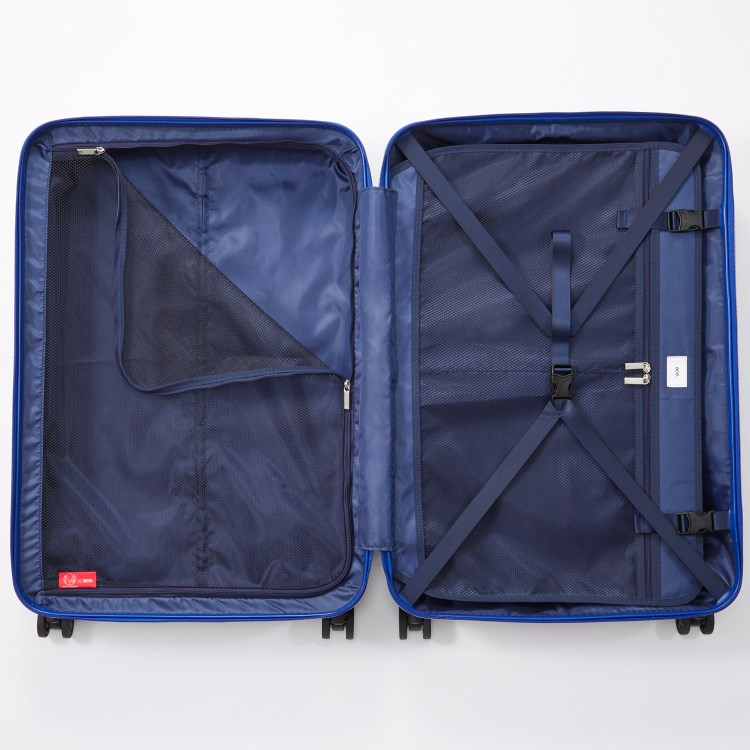 ≪ M / mika ninagawa≫ スーツケース ace.リップルz MN ジッパータイプ 93リットル キャスターストッパー/ワイヤー式ロック搭載 1週間~10日程度の旅行に 06563