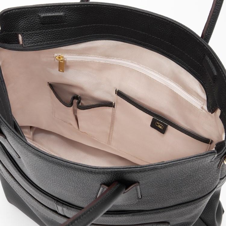 ≪ace. エネルチャーム≫ レディースビジネス 毎日の通勤に。 タテ型トートバッグ A4サイズ  31923