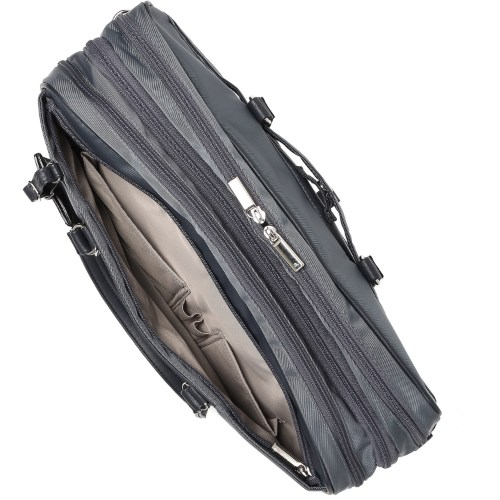 ≪ace. ビエナ≫通勤~出張まで☆マチが広がって容量UP! 2気室仕様レディースビジネスバッグ 59094