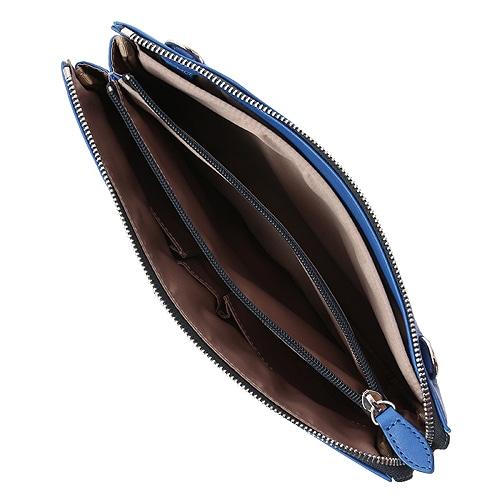 ≪ultima TOKYO/ウルティマ トーキョー≫3way スマートショルダー◇セカンドバッグ、ショルダーバッグ、バッグinバッグの3通り 薄マチタイプ 77612