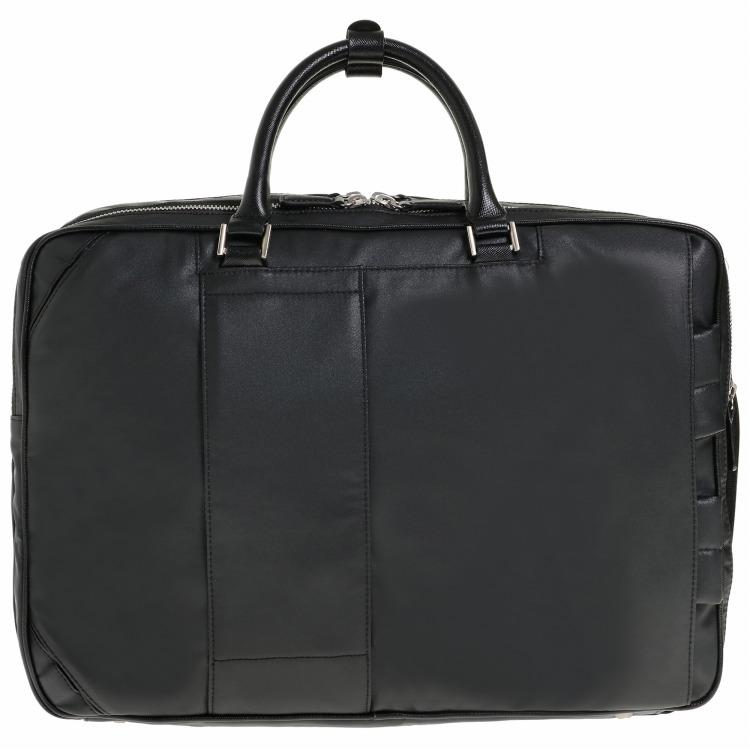≪ultima TOKYO/ウルティマ トーキョー≫ スティード 3WAYバッグ 2気室・エキスパンダブル フロントのラインカラーが印象的なビジネスバッグ B4サイズ/PC対応 77895