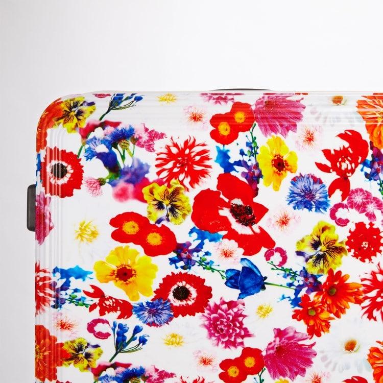 ≪ M / mika ninagawa≫ スーツケース 限定 ace.リップルz MN LTD ジッパータイプ 67リットル キャスターストッパー/ワイヤー式ロック搭載 1週間程度の旅行に  06567