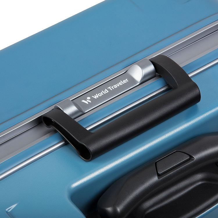 ≪World Traveler/ワールドトラベラー≫ コヴァーラム スーツケース 73リットル 日本製 フレームタイプ 1週間程度の旅行に  06582