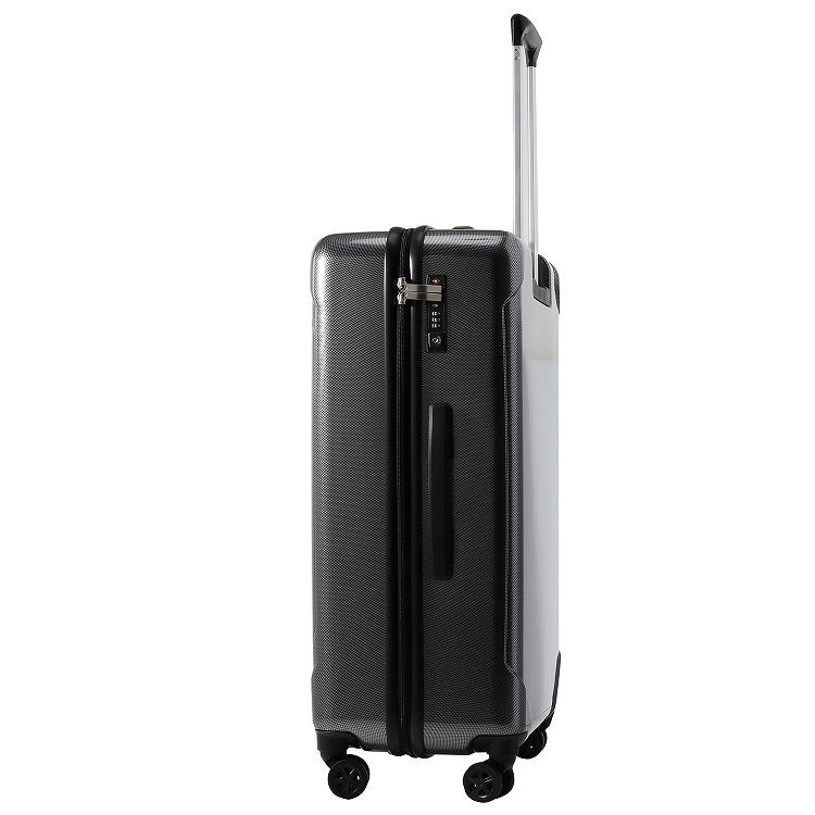 ≪ACE/エース≫ コンベクション スーツケース 72リットル ジッパータイプ 4、5泊~1週間程度の旅行に 06613