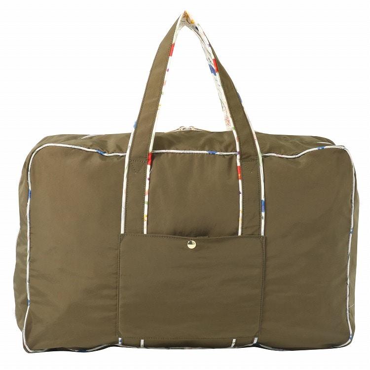 【3月下旬頃入荷予定】≪JEWELNA ROSE ジュエルナローズ≫リバティ・ファブリックアイラ 折りたたみバッグ Mサイズ 29878 レディース 折りたたみバッグ エコバッグ スーツケースにセットアップ可能