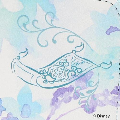 """≪ジュエルナローズ≫ ディズニーコレクション 『Aladdin』 プリンセス """"ジャスミン"""" シリーズ  ロングウォレット ラウンドファスナータイプ / 33207"""