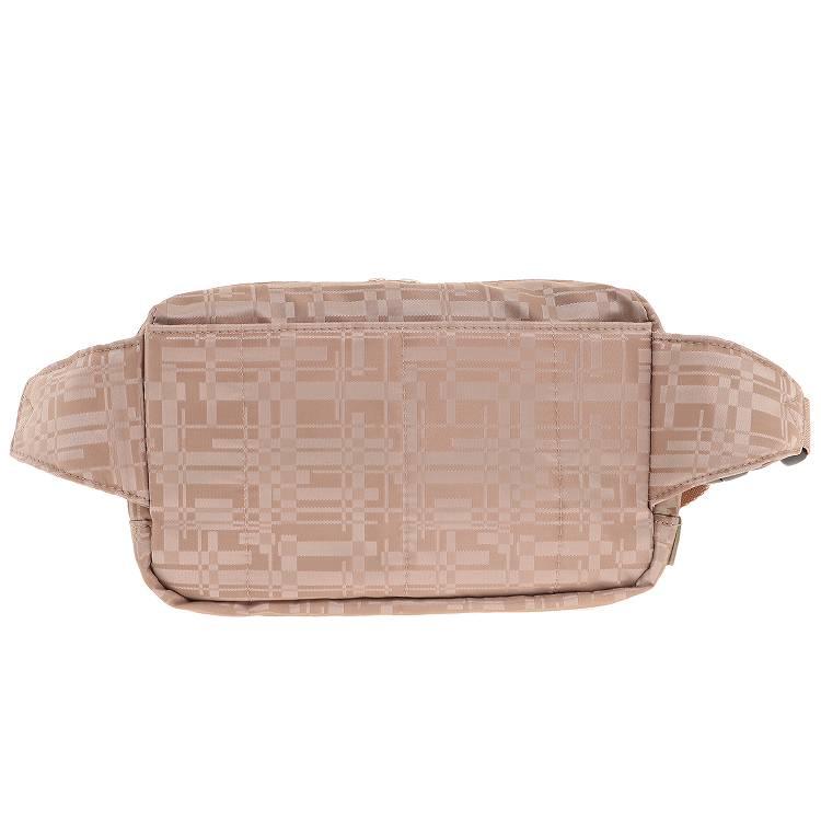 ≪ace. ウィルカール2≫ ウエストポーチ ジャガード織りが上品なトラベルシリーズ 55601