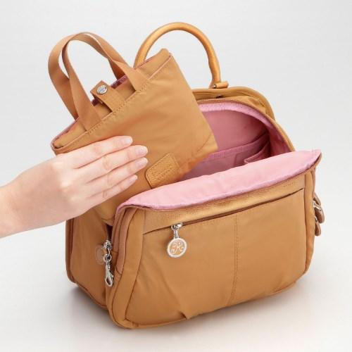 ≪Kanana project/カナナプロジェクト≫アシスタントバッグ☆荷物が増えても安心!折りたたみB4サブバッグ 59722