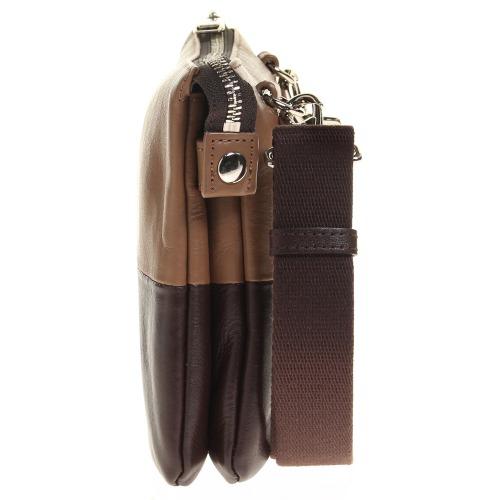 ≪ultima TOKYO/ウルティマ トーキョー≫ アーバンスイッチショルダー ショルダーバッグ/クラッチ/バッグinバッグの3WAYで使える レザーショルダー 8インチタブレット収納 薄マチタイプ 77880