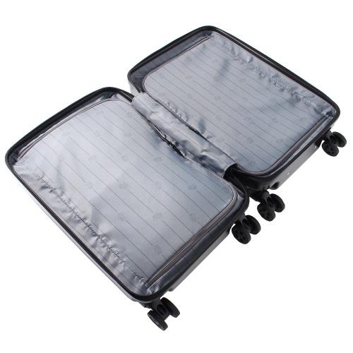 ≪ZEROBRIDGE/ゼロブリッジ≫ コーネリア スーツケース 30リットル フロントオープン ファスナータイプ 機内持込対応サイズ 13インチPC収納 06206
