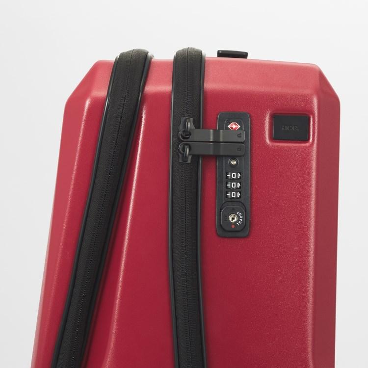 ≪ M / mika ninagawa≫ スーツケース ace.スクエアワン MN  1~2泊用 出張用ビジネストローリー 機内持込対応サイズ 06571