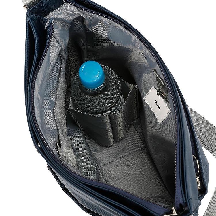 ≪ace./エース≫ フィルトレック ショルダーバッグ タテ型 小物を機能的に収納できる軽量トラベルショルダー 31943