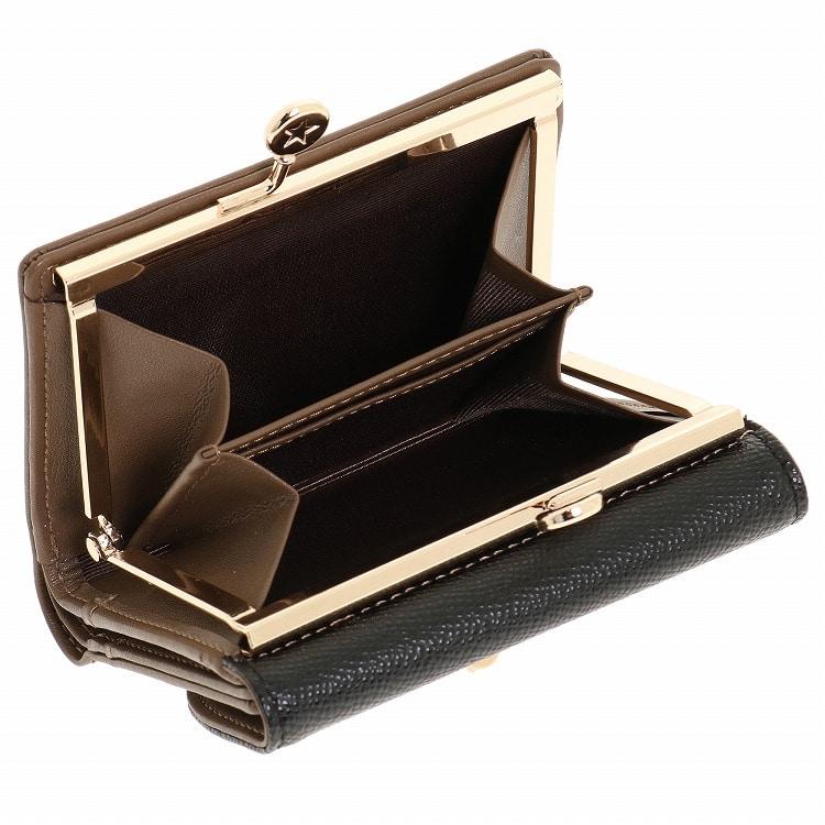 timeless design 6be56 eb49c ≪JEWELNA ROSE ジュエルナローズ≫カーヴィー 二つ折りがま口財布 32721 レディース ウォレット ミニ財布
