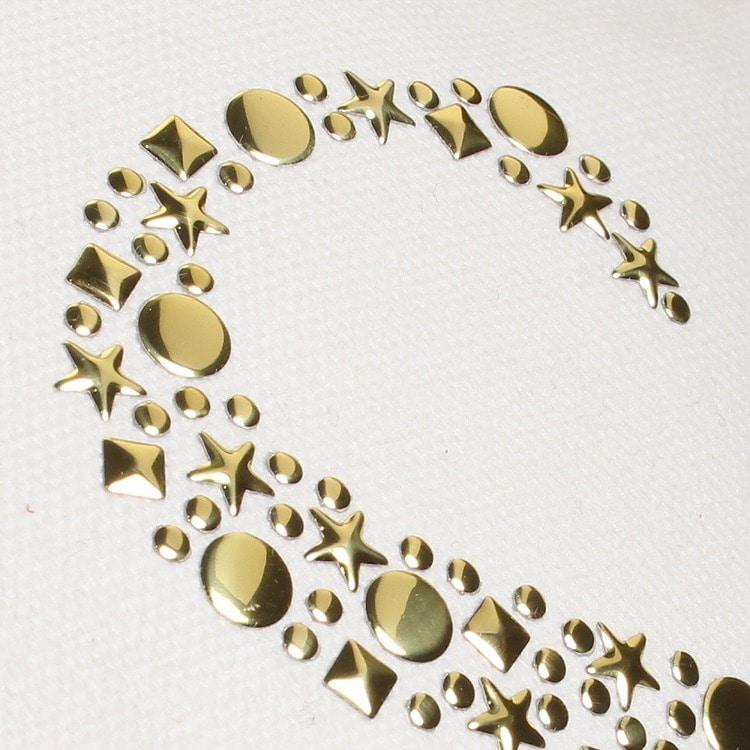 ≪JEWELNA ROSE/ジュエルナローズ≫ライン・ショルダー付きイニシャルトートバッグ/34851
