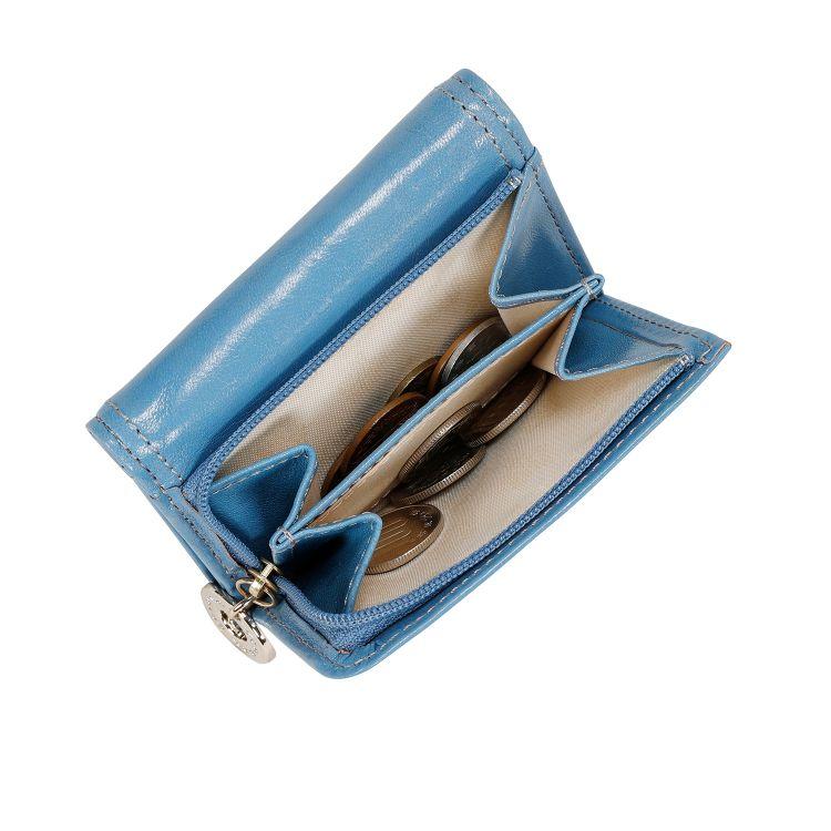 ≪カナナプロジェクト≫グロッシー シリーズ  ミニ財布 女性の手のひらに収まる人気のサイズ 34931