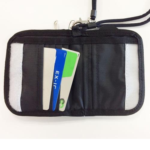 ≪adidas/アディダス≫ 二つ折り財布 ファスナー開閉コインケース・ウォレットコード付き 47622