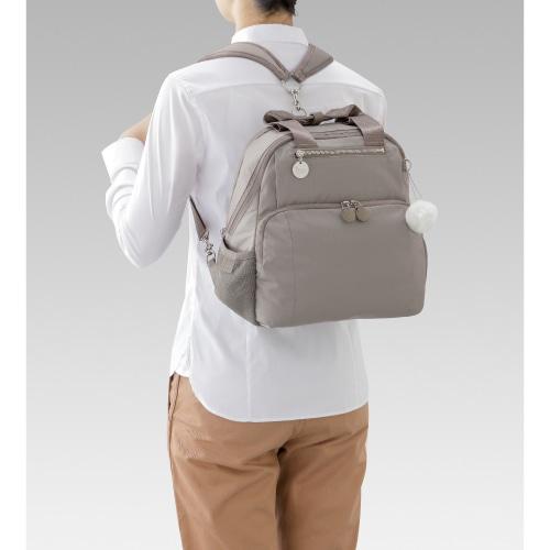 ≪Kanana project/カナナプロジェクト≫ カナナ ワンデイパック トートバッグにもなる2WAYリュック!これひとつで1泊旅行もOK♪ 54791