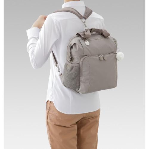≪Kanana project/カナナプロジェクト≫カナナワンデイパック トートバッグにもなるA4サイズ2WAYリュック!これひとつで1泊旅行もOK♪ 54792