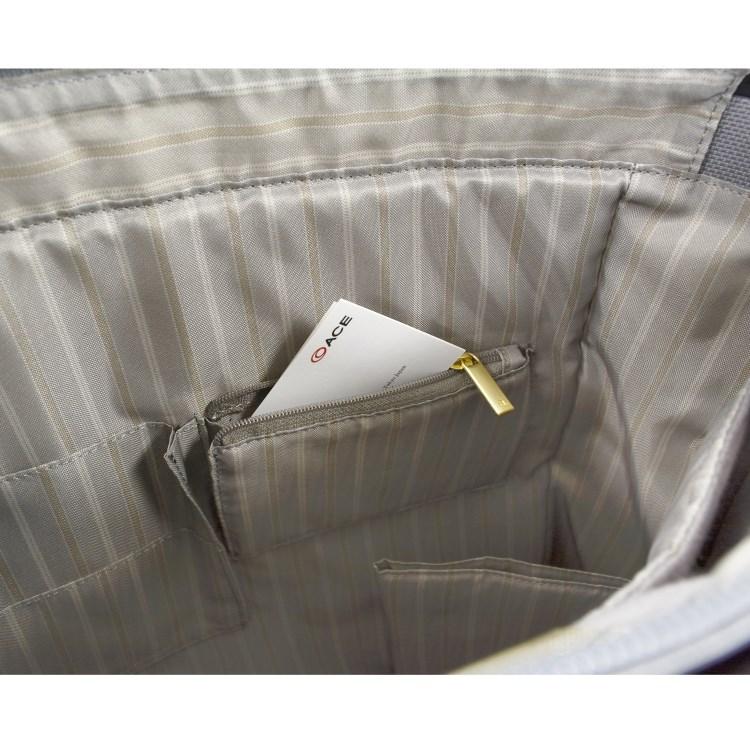 ≪ace. スタンミートート≫ レディースビジネス☆毎日の通勤に。 A4サイズ  タテ型ビジネストート 55071