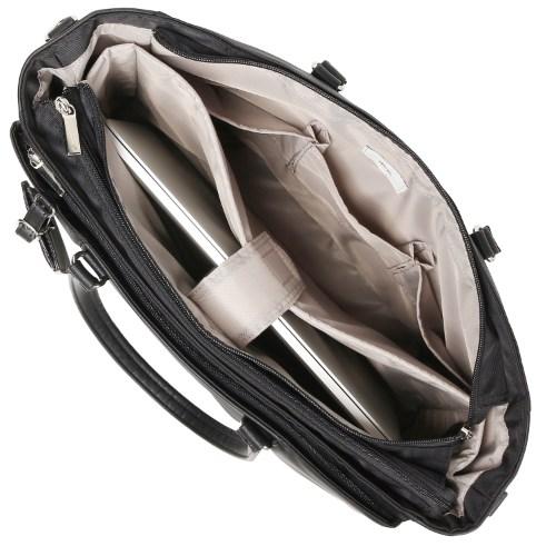 ≪ace. ビエナ≫レディースビジネス☆荷物が多い日も安心のたっぷりサイズ A4サイズ通勤トートバッグ 59093