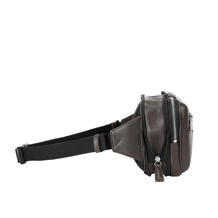 ≪ultima TOKYO/ウルティマ トーキョー≫ マイクロショルダー ウエストバッグ 容量を拡張できるエキスパンダブル バッグインバッグにもなる2WAYタイプ 77922