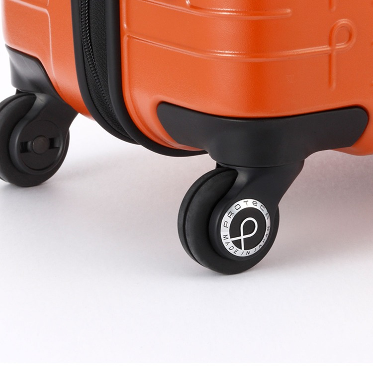 ≪Proteca/プロテカ≫ ポケットライナー スーツケース ジッパータイプ 35リットル 機内持ち込み対応サイズ 便利で使いやすいフロントオープンポケット 2~3泊程度の旅行に 01831