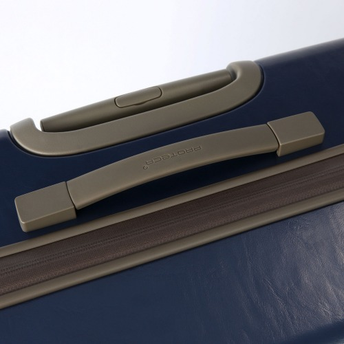 ≪プロテカ ジーニオ センチュリー Z≫ スーツケース 35リットル 機内持ち込み対応サイズ ―プロテカのプレステージモデルにジッパータイプが登場―キャスターストッパー搭載 2~3泊程度の旅行に 02811