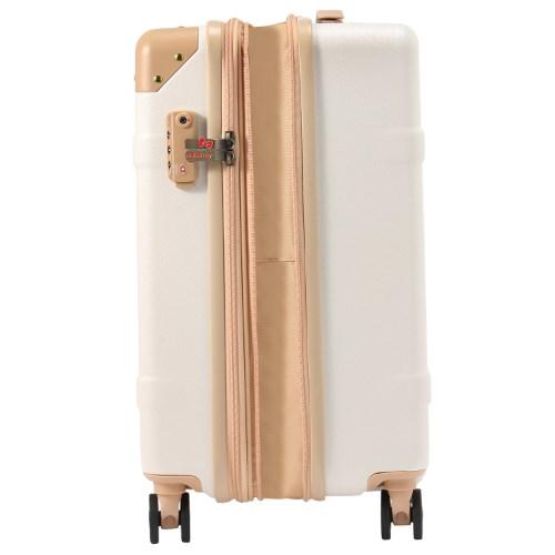 ≪World Traveler/ワールドトラベラー≫ 10周年記念 『ハローキティ』 コラボスーツケース第2弾☆41リットル 機内持込2~3泊程度のご旅行向きスーツケース 06323