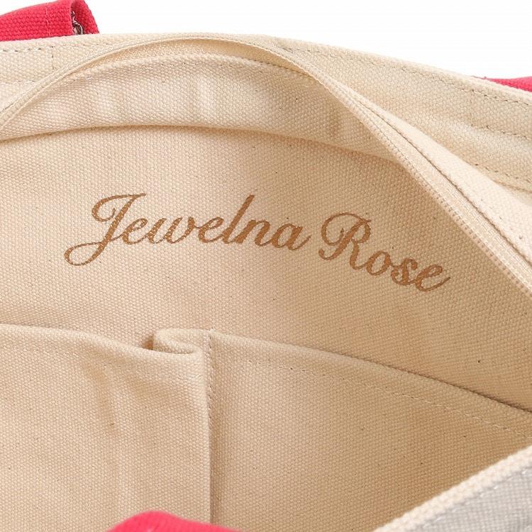 ≪JEWELNA ROSE/ジュエルナローズ≫リバティ・ファブリック イニシャルトート トートバッグ レディース A4サイズ 花柄 サブバッグ 32736