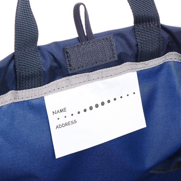 ≪adidas/アディダス≫ ナップサック ランドセルカバー 巾着袋 持ち手つき 体操着入れ サブバッグ キッズ 男の子 ランドセルに取り付け可能! 57271