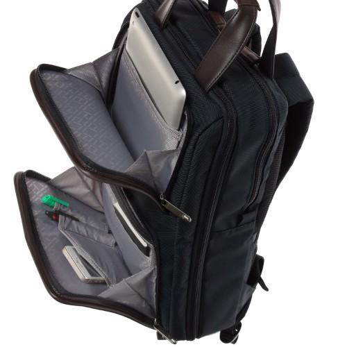 ≪ace./エース EVL-3.0≫ PC・タブレット収納対応 A4サイズ エキスパンダブル機能付き 2本手グリップ リュック型ビジネスバッグ 16リットル 59513
