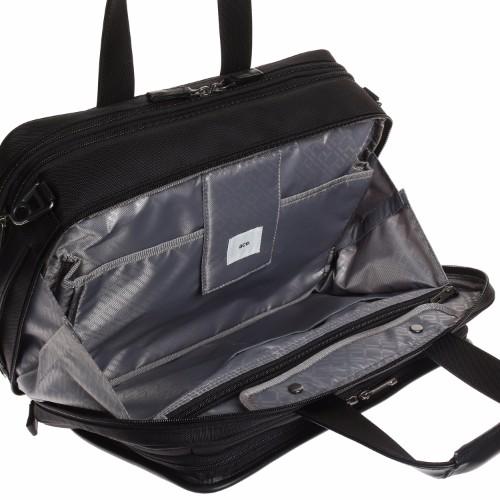≪ ace./エース EVL-3.0 ≫ PC・タブレット収納対応 エキスパンダブル機能付き A4サイズ/2気室 ブリーフケース 59523