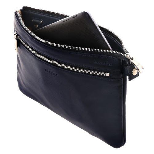 ≪ultima TOKYO/ウルティマ トーキョー≫3way スマートバッグⅡ◇セカンドバッグ、ショルダーバッグ、バッグinバッグの3通り マチ無しタイプ (レザー素材)   77751
