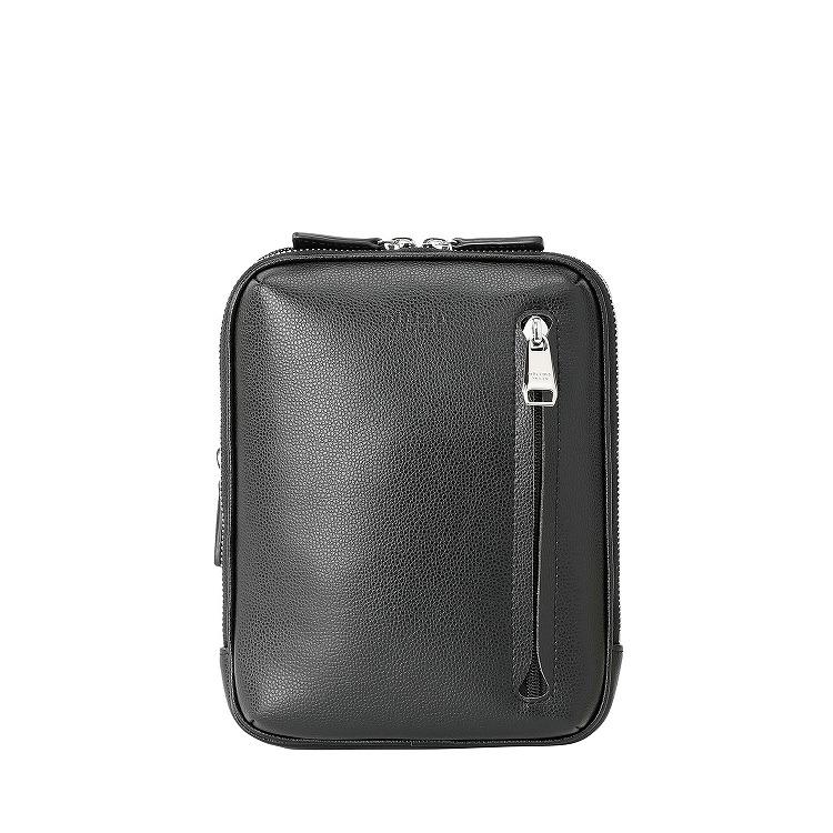 ≪ultima TOKYO/ウルティマ トーキョー≫ マイクロショルダー タテ型ショルダーバッグ 容量を拡張できるエキスパンダブル バッグインバッグにもなる2WAYタイプ 77923