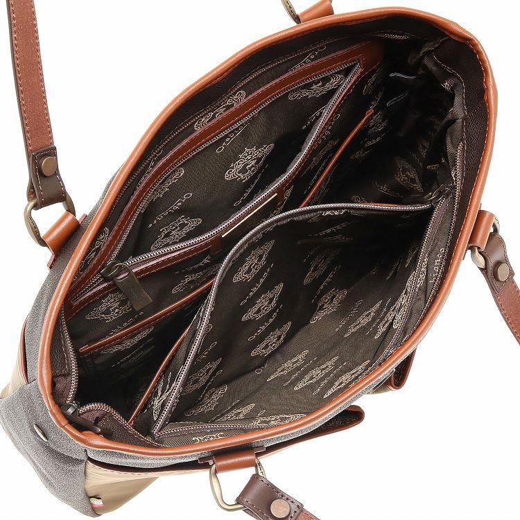 ≪オロビアンコ 3C BASKYBAG-G 01≫ 自立しやすいビジネス トートバッグ スーツケースへのセットアップ機能付き 90243