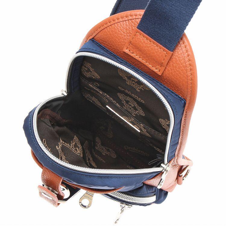 ≪オロビアンコ ANNIBALE-F (NYLON)≫ ボディバッグ 美しいシャープなシルエットとノンストレスのフィット感が魅力 90401