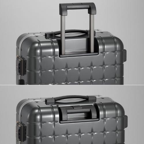 ≪プロテカ 360 フレームタイプ/PROTECA  360≫機内持込み対応サイズ◇2泊程度の旅行用スーツケース 34リットル   00661