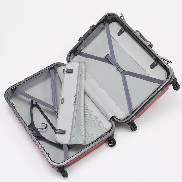 ≪Proteca/プロテカ≫ ストラタム スーツケース フレームタイプ 64リットル マグネシウム合金フレーム採用 5~6泊の旅行に 00851