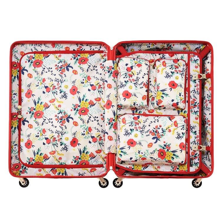 ≪HaNT/ハント≫マイン スーツケース 75リットル キャスターストッパー搭載 4、5泊の旅行に 05747