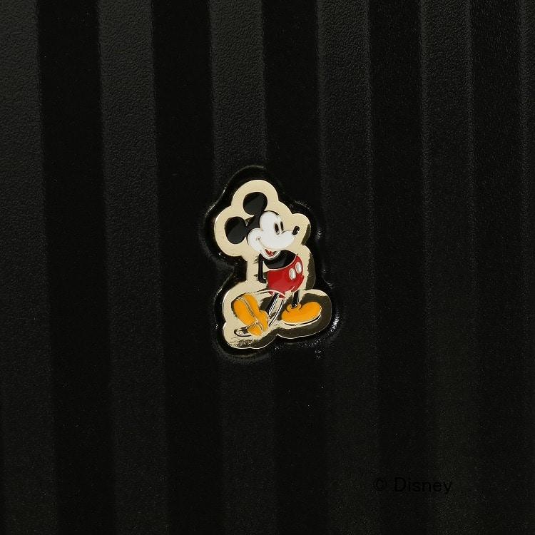 ≪Jewelna Rose/ジュエルナローズ≫ カレッジ・ミッキー スーツケース 3-5泊におすすめ(57リットル) ハンドルカバー付き 06039